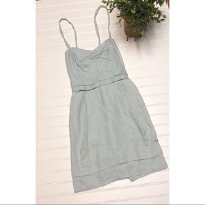 Wilfred Brand Pale Blue Linen Summer Dress